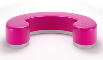 hot pink bench