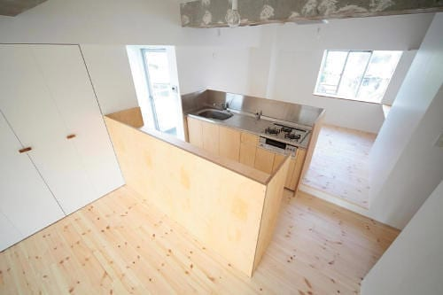 modern japanese kitchen