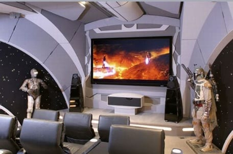 star wars entertainment system