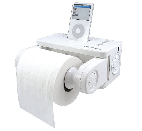 novelty ipod docks