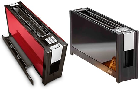 Ritter Volcano 5 Is A Slim Toaster Made Of Glass