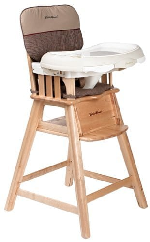 tradtional Wood Baby High Chair