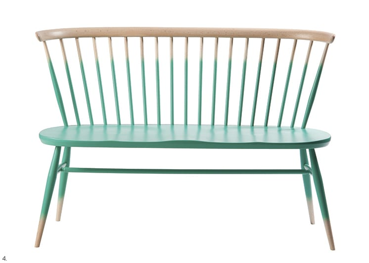 Anthropologie's Ombre Bench