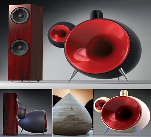 The Aeries Cerat Contendo Reference Horn Speakers