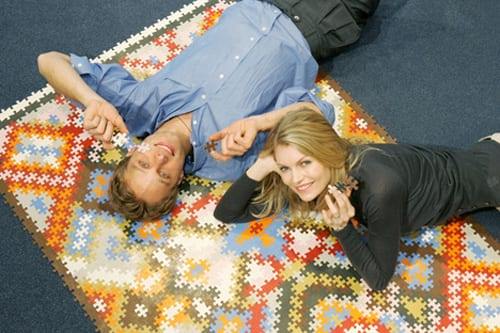 The Do-It-Yourself Persian Puzzle Rug