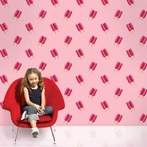 kid-friendly removable wallpaper
