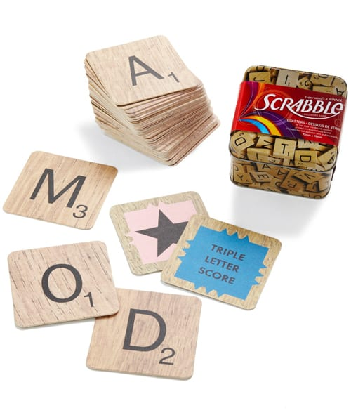 Official Scrabble Coasters Made of Recycled Pulp Board   5