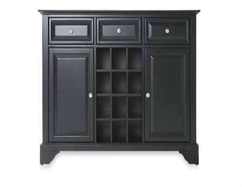 classic black sideboard