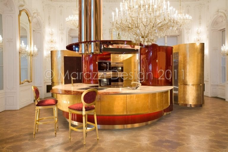 The Colosseo Oro Is The World S Most Expensive Fitted Kitchen