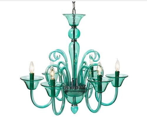 The Calais Chandelier from Z Gallerie