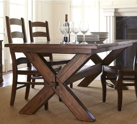 northern italian dining room table