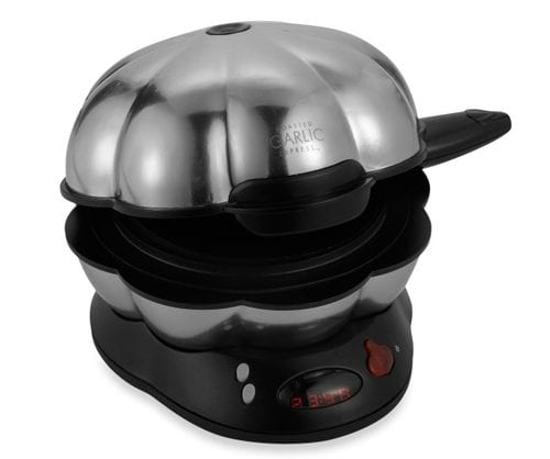 The Todco Stainless Steel Roasted Garlic Express Electric Roaster