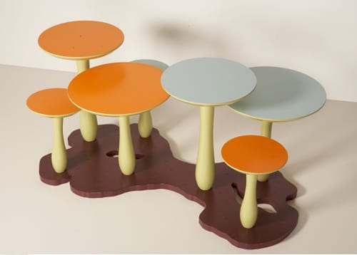 Mushroom Tables from Thomas Wold