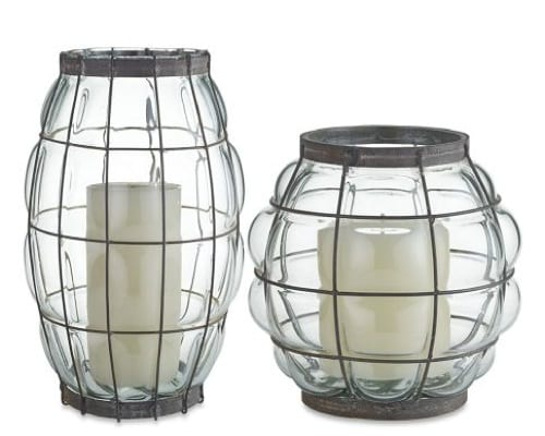 williams sonoma hurricane lamps