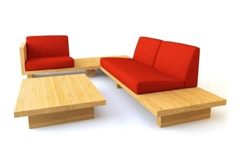 bamboo sectional furniture