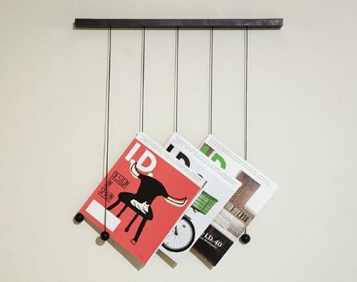 modern magazine display racks