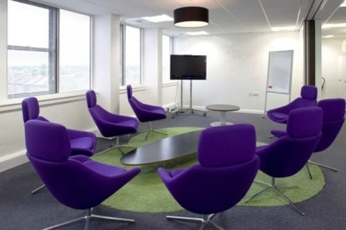 nontraditional meeting room furniture