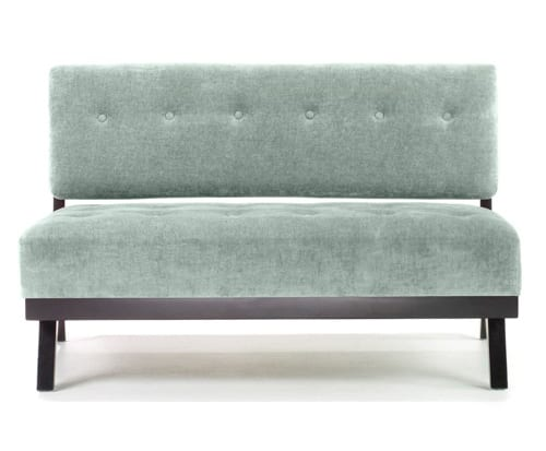 slate grey loveseat