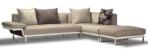 tropical grey sectional sofa
