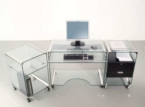 mobile glass office