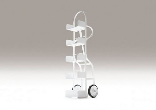 movable dolly shelving