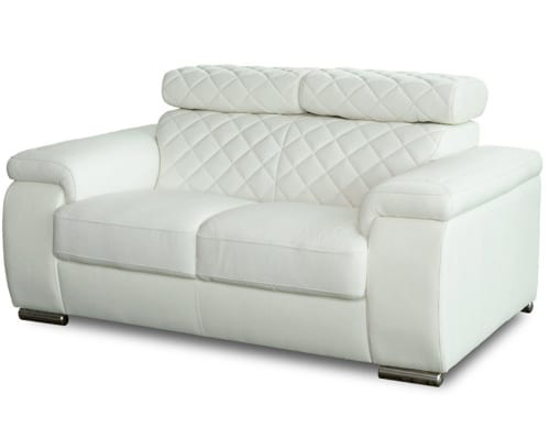white Florida loveseat