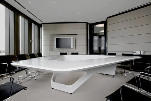 high-tech conference rooms