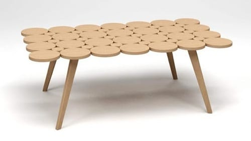 eco-friendly bamboo table