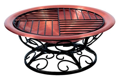 copper fire pit
