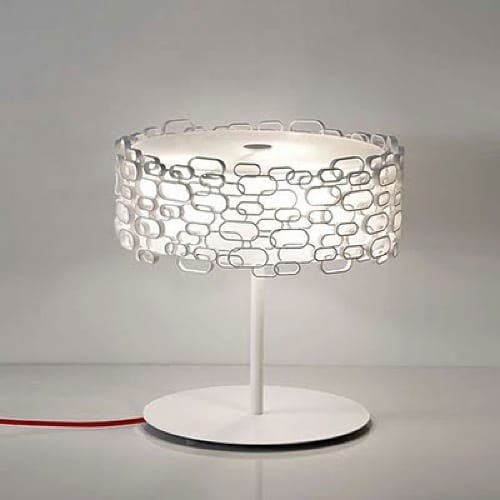 chain link lampshade