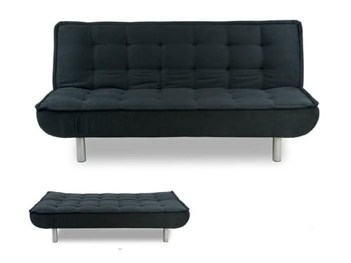 Black Tufted Sofa Bed