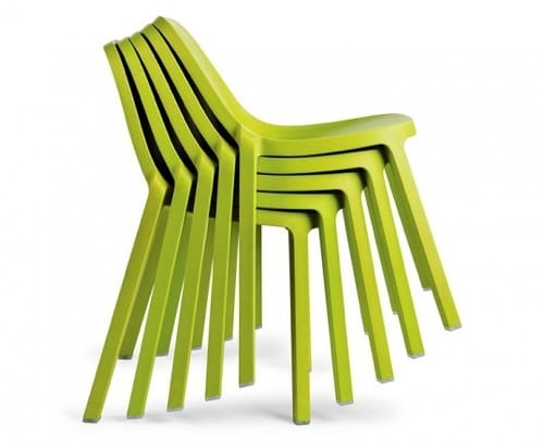 green desk chairs