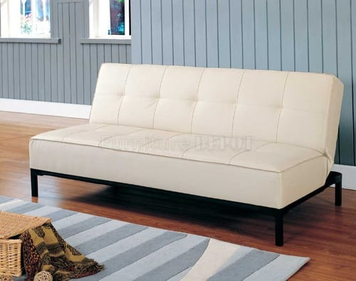 convertible leather sofa