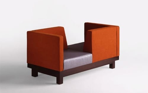 ultramodern love seat