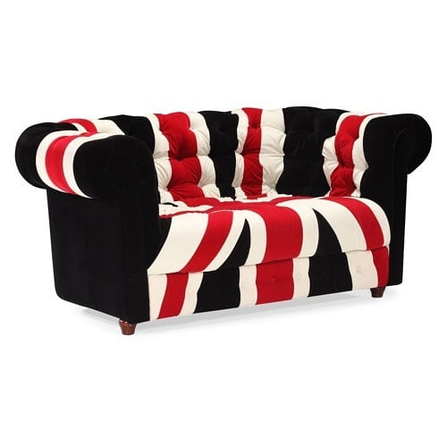 Union Jack loveseat