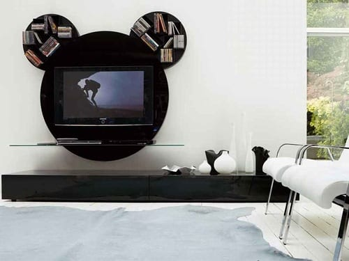 Mickey Mouse tv stand
