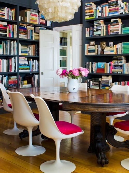 chic home library