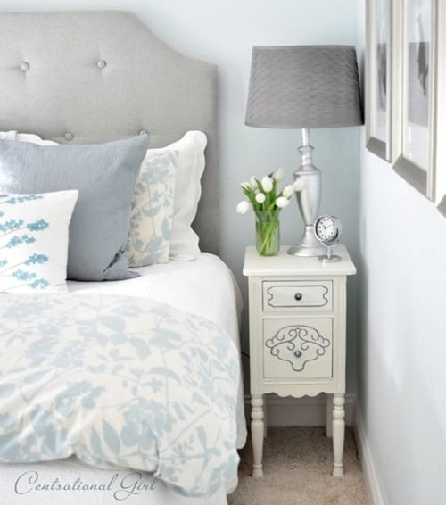 chalk painted nightstand
