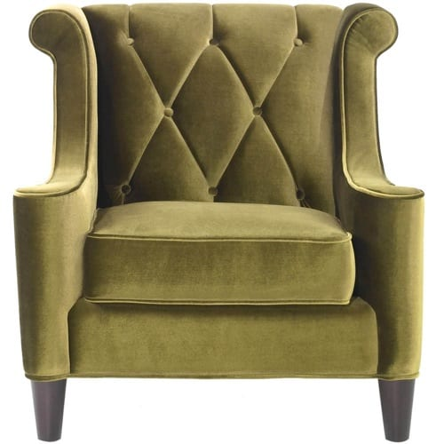 comfortable green chairs