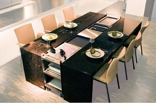 expandable dinner table