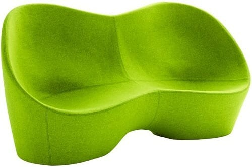 contemporary green couch