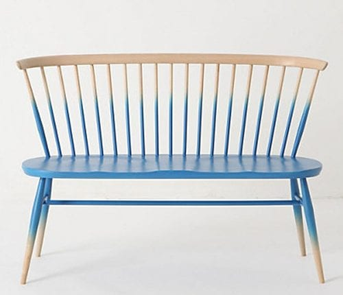 Bench from Anthropologie