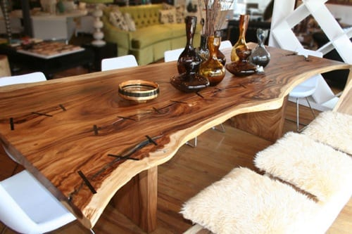 unique dining room tables
