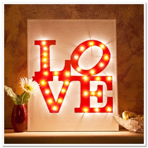 10 Pieces of Illuminated Wall Art