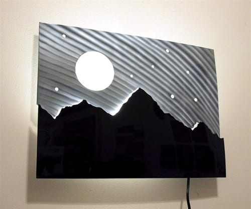 illuminated wall art