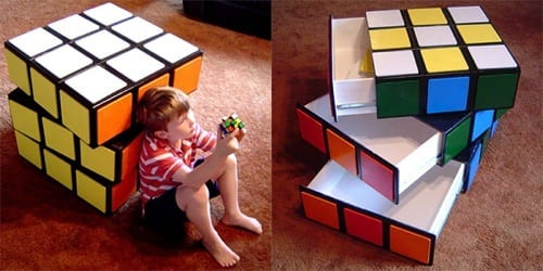 rubiks cube furniture