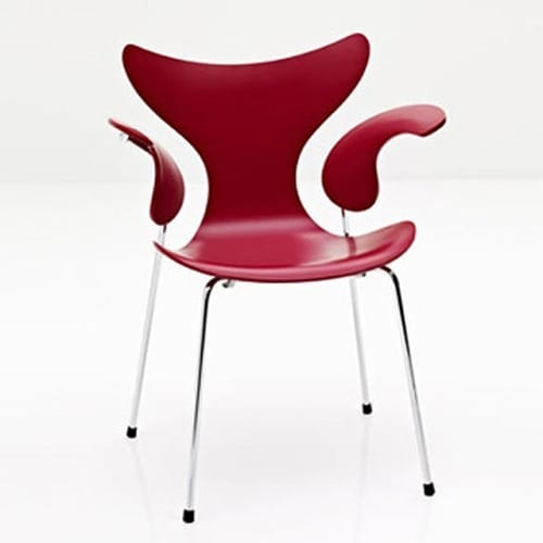 10 Bright Red Chairs