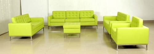 chartreuse couch