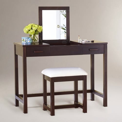 mahogany vanity table