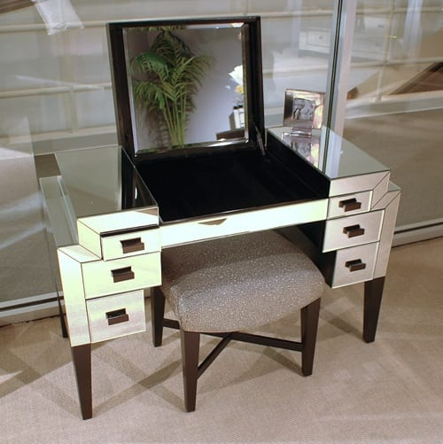 funky vanity table